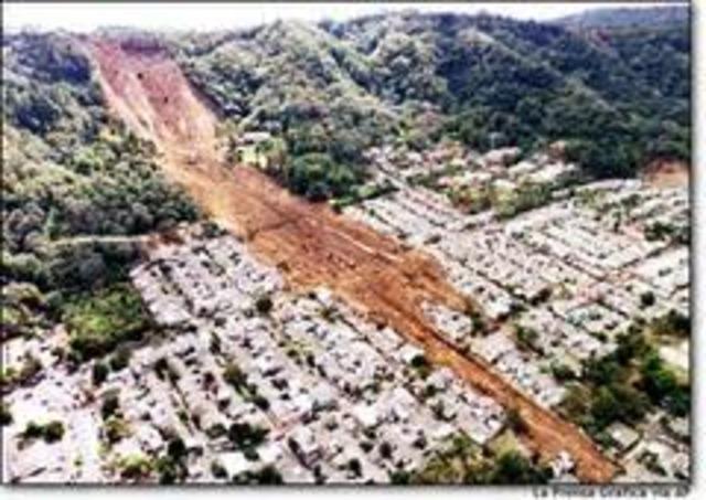 Earthquake in El Salvador