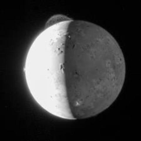 Galileo Spaceraft Passes Io