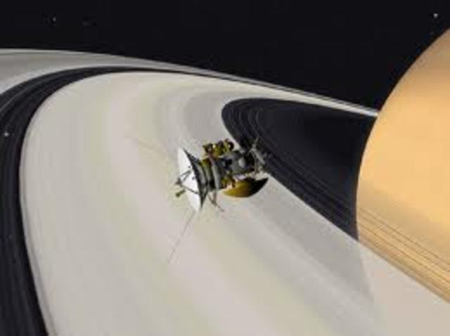 Cassini finds geyers