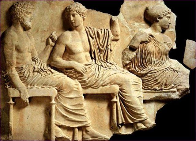 Poseidón Apolo y Artemisa
