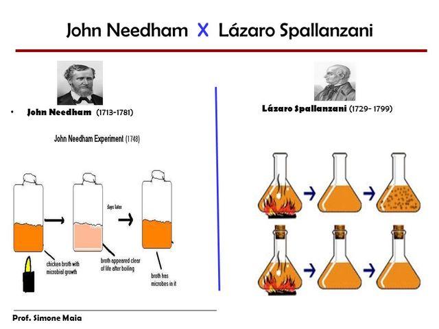 Experimento de Needham e Spallanzani