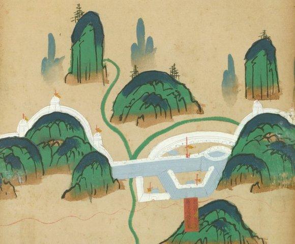El emperador Ming ordena la reconstrucción de la Gran Muralla como protección contra los invasores del norte