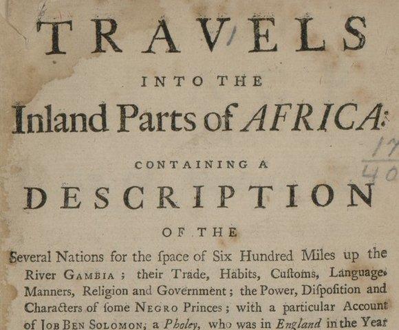 Primer informe de esclavos de África en el Nuevo Mundo
