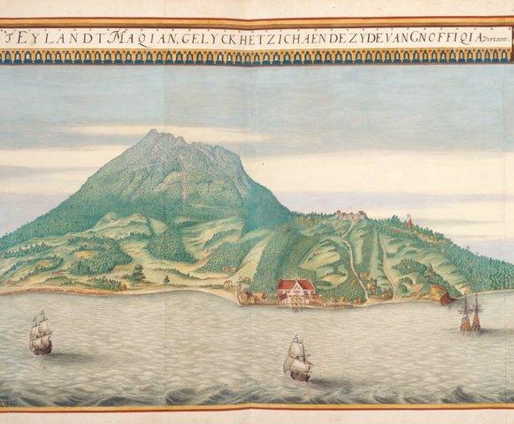 Los holandeses colonizan las Indias Orientales