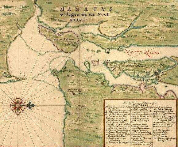 Los holandeses fundan Nueva Ámsterdam (Nueva York)