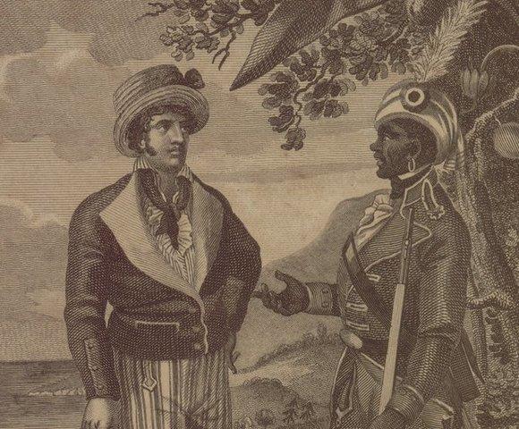 Toussaint L'Ouverture establece la República de Haití independiente