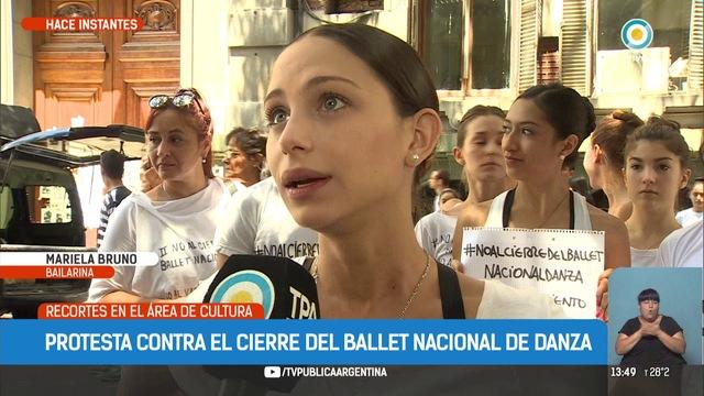 El ministro Avelluto dio de baja el ballet clásico de Iñaki Urlezaga