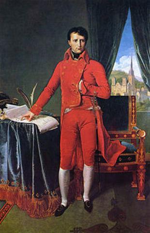 Un golpe de estado convierte a Bonaparte en la máxima autoridad de Francia