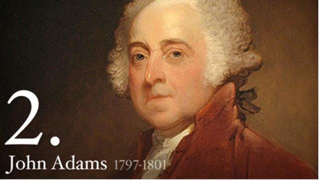 John Adams elected