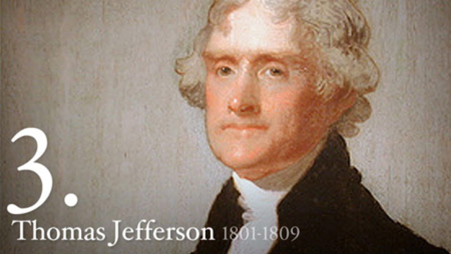 Thomas Jefferson elected