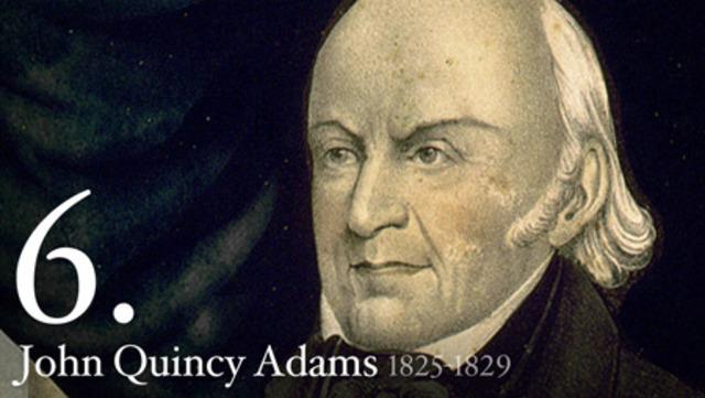 John Qunicy Adams elected