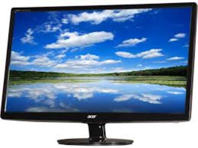 Uso de TV LCD