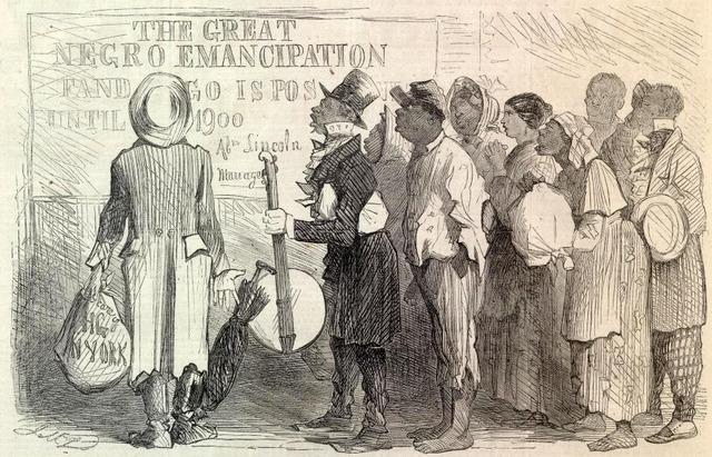Emanicpation Proclamation signed