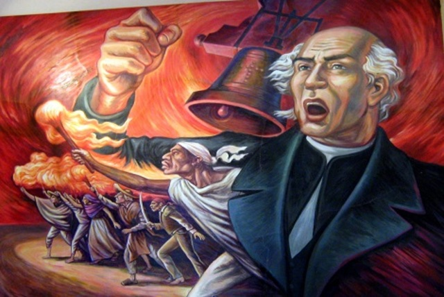 Inicio de la Independencia de Mexico