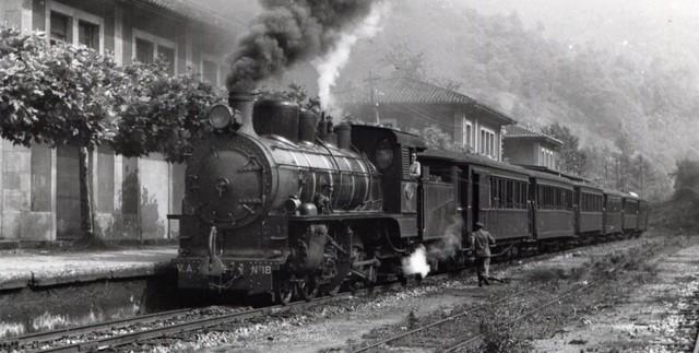 Construccion del ferrocarril Mexico-Veracruz