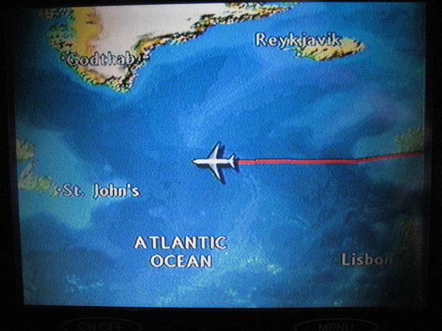 Air mail service across the Atlantic Ocean began.