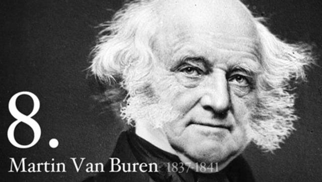 Martin Van Buren elected
