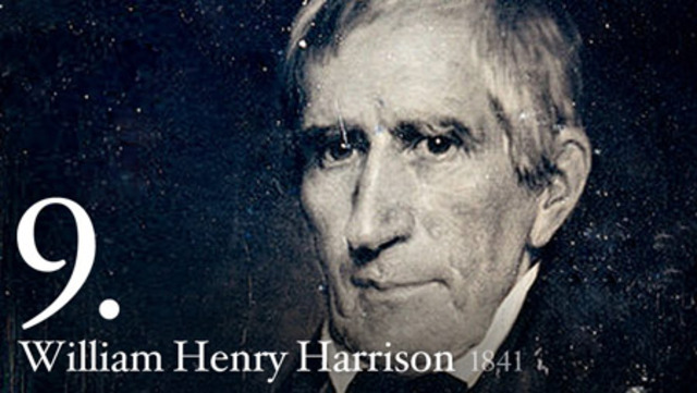 William Henry Harrison elected