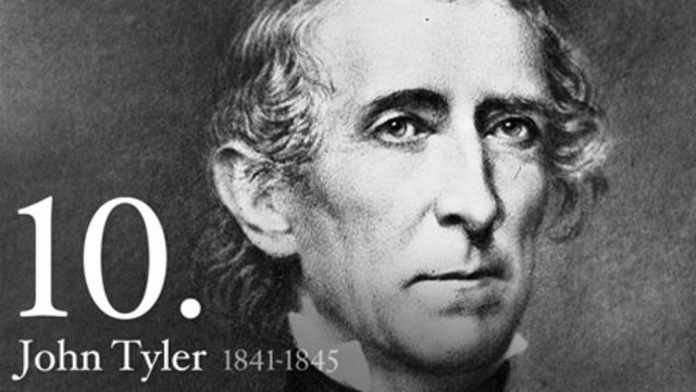 John Tyler elected
