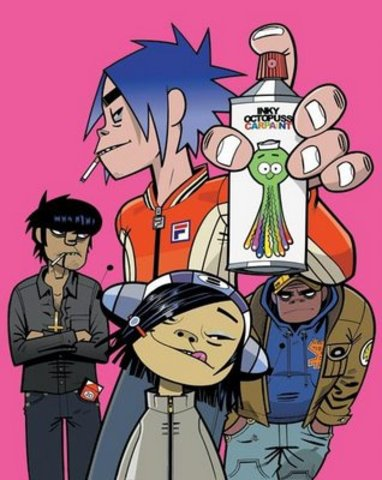 The first time i hear The Gorillaz :)