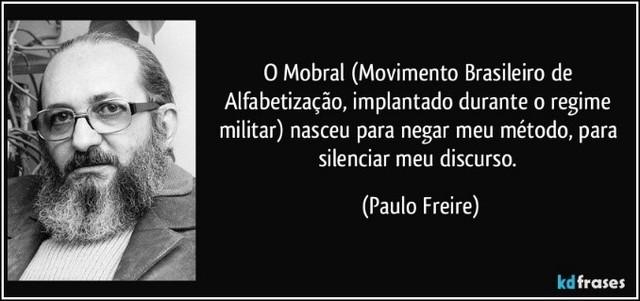O Movimento Brasileiro de Alfabetização (MOBRAL) e a Cruzada ABC