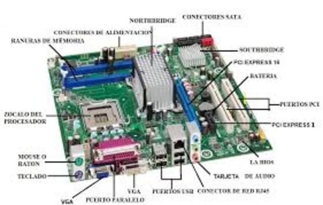 La ranura PCI.