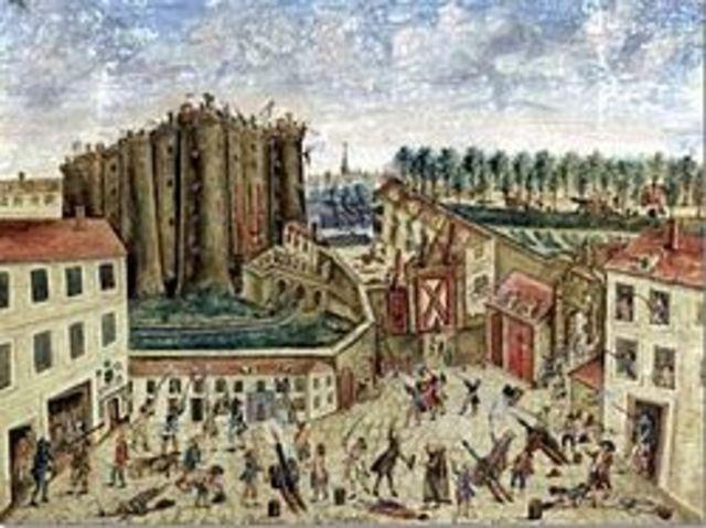 La Presa de La Bastilla