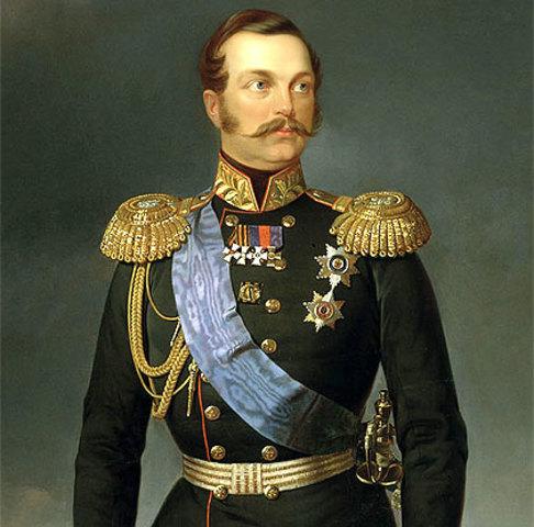 Inicio del reinado de Zar Alejandro II