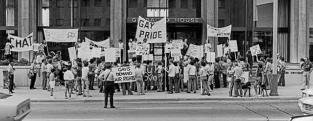 First Gay Rights March