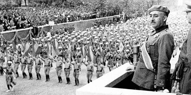Avanç de l'exercit de Franco