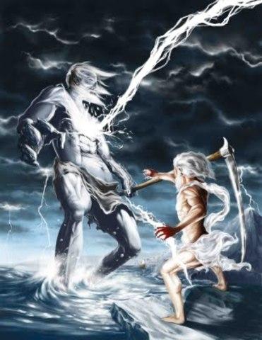 Mitologia Grega - Batalha dos Titãs vs Zeus