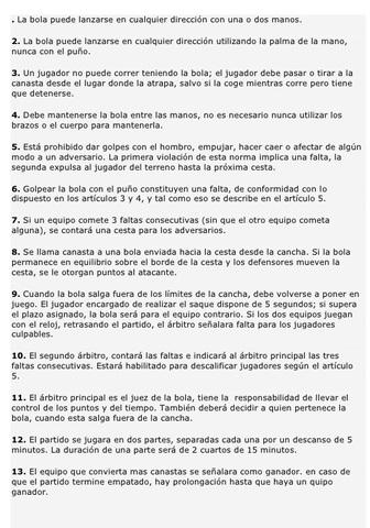 Publicación del primer reglamento que constaba de 13 artículos.