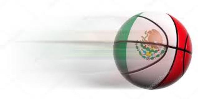 México es el primer país extranjero en adoptar el baloncesto.