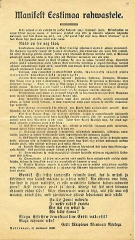 iseseisvusmanifest