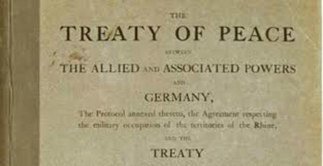 Fí de les guerres i Tractat de Versalles