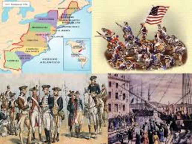 Guerra de les 13 colònies.