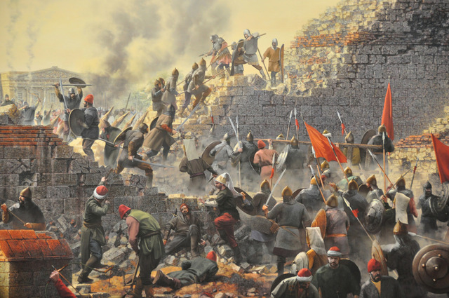 Fundacion de Constantinopla