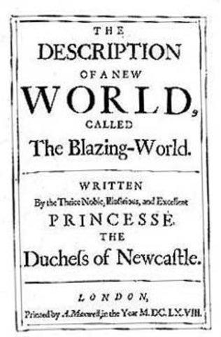 Blazing World Published by Margaret Cavendish