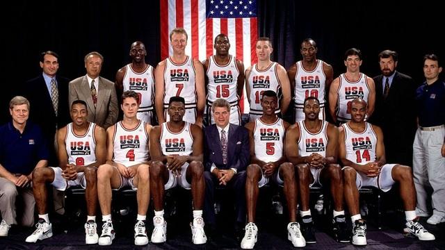 El mejor equipo del baloncesto jamás reunido hasta la fecha, (El Dream Team ), fue la atracción en los juegos olimpitos de Barcelona.