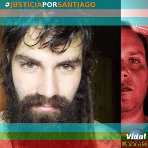 Marcha a ocho meses de la desaparición seguida de muerte de Santiago