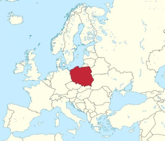 Hitler innvandrer Polen