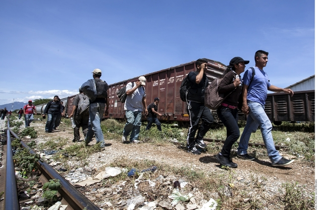 Migraciòn de mexicanos hacìa E.U.A.