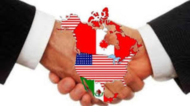 Inicio del Tratado de Libre Comercio