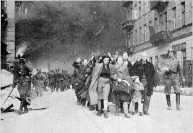 Warsaw Ghetto Uprising Begins