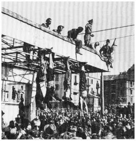 Mussolini Executed