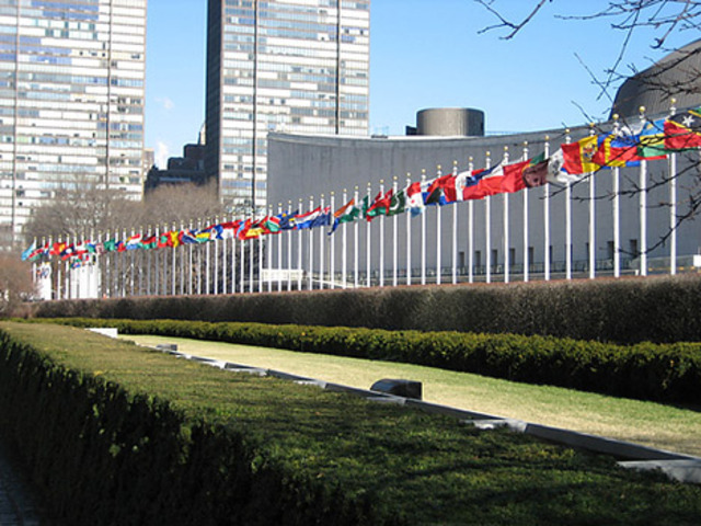 First United Nations meeting