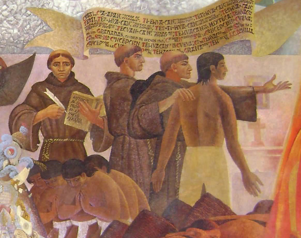 Llegada de frailes Franciscanos