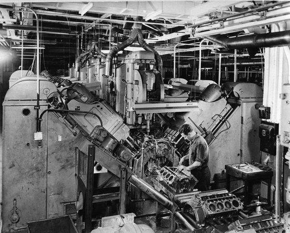 Producción esbelta, JIT, TQC y automatización de la fábrica