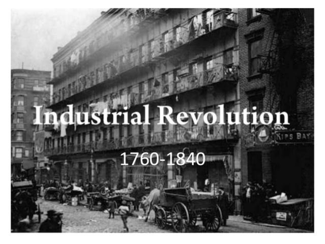 Beginning of Industrial Revolution