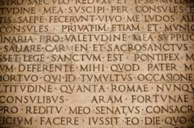 Decline of Latin